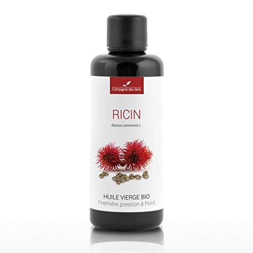 RICIN - 100mL - Huile Végétale Certifiée BIO, garantie vierge et de première pression à froid - Aromathérapie - La Compagnie des Sens