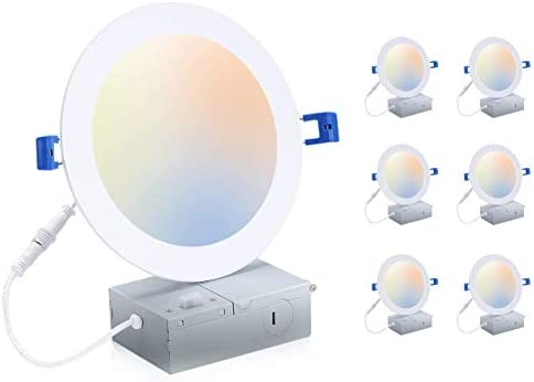 Cloudy Bay 6 inch 3000K 4000K 5000K Three Color Temperature Selectable Dimmable 15W CRI90 Ultra product image