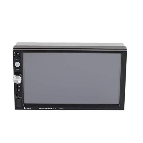 Universele 7023B auto dvd-speler MP5-speler FM-radio met camera zwart
