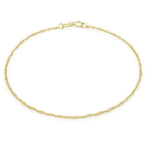Carissima Gold Damen - Armband 375 Gold Rundschliff Diamant 1.23.0461