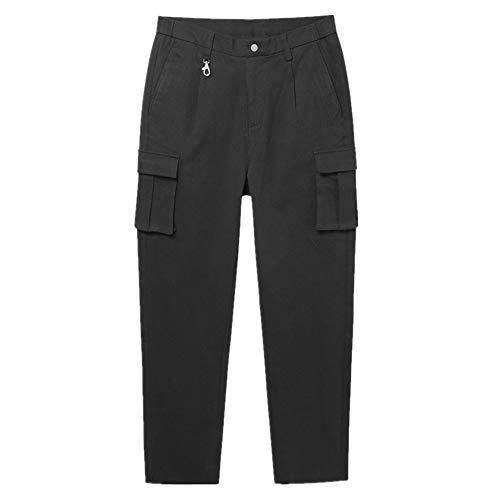 N\P Hombres Otoño Grueso Monos de los Hombres de la Media Cintura MicroElástica Casual Pantalones Pantalones Pantalones