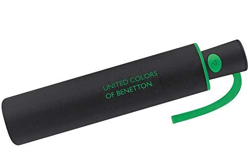 Benetton Taschenschirm Mini AC Solid - Black