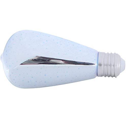 Tashido Bombillas LED de 5 W LED decoración 85 V-265 V novedad RGB lámpara ST64 filamentos fuegos artificiales para la casa vacaciones