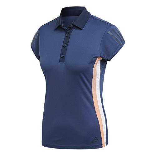 adidas Club 3Str Polo, Mujer, Azul (indnob), L