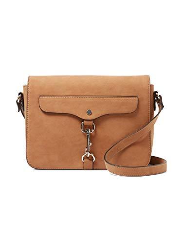 TOM TAILOR Umhängetasche Damen Fria, Braun (Cognac), 25.5x17x7 cm, TOM TAILOR Handtaschen, Taschen für Damen