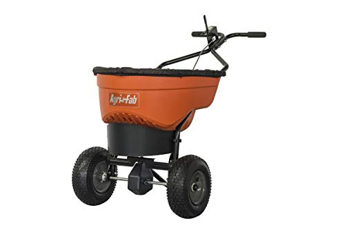 Agri-Fab 45-0548 130 lb. Commercial Push Spreader, Orange/Black