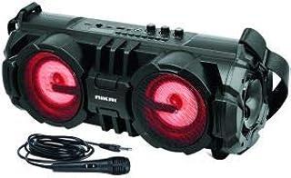 سماعت بلوتوث نيكاي مع ميك Nikai Portable Bluetooth Speaker System, Black, NBTS60…