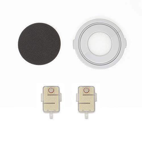 Polti PAEU0359 Kit de 2 antical y 1 Filtro de aspiración Compatible Vaporetto 3 Clean, Plastic