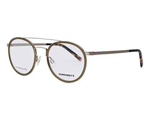 Humphrey's Brille (581064 40) Metall - Plastik braun kristall - gold