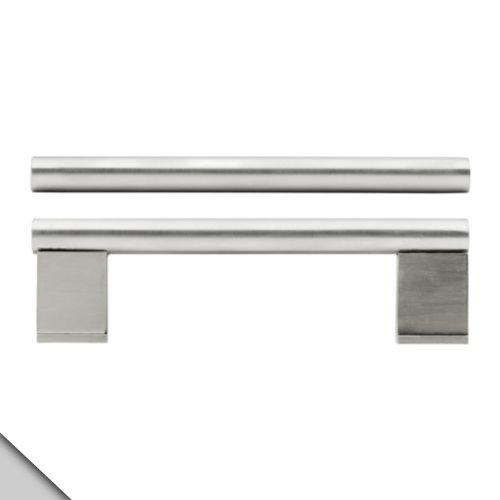 IKEA–Vinna cajón/armario tirador de puerta, acero inoxidable (2)
