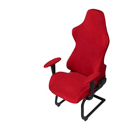 GETMOREBEAUTY Funda para silla de juegos Funda elástica para silla de juegos de carrera (Red)