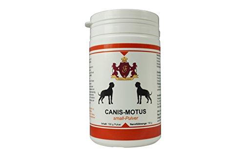 Feddema Canis-Motus Forte Pulver Gelenk Ergänzungsfutter für Hunde mit Teufelskralle Grünlippmuschel Glucosamin MSM I Futterergänzung Hunde Gelenke Pulver 150 g