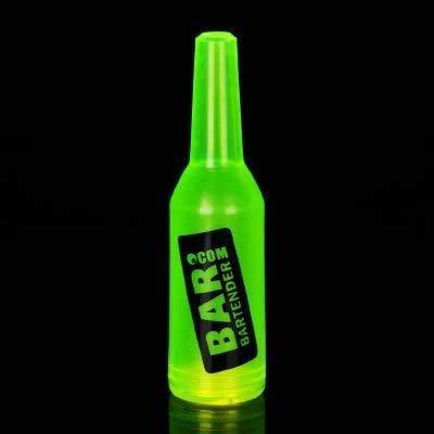 Coctelera, Práctica Plactic Coctelera Boston Bar Shaker Botella De Jugo De Plástico Flair Bartender Bar Tool Accesorio, 8 Bartender