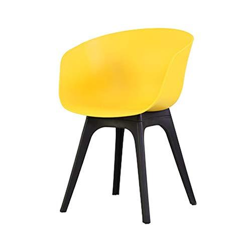 Adjustable Wrenches Sillas de jardín, Sillones de plástico con Brazos, de sillas de Exterior Patio, Silla de Comedor Antracita (Color : C)