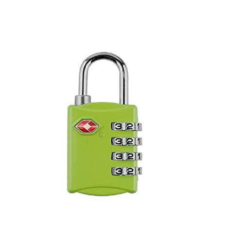Gangkun Color digitale wachtwoord lock reizen goederen reizen goederen tsa douaneslot hangslot tsa309 douane multifunctionele vier zwart, groen