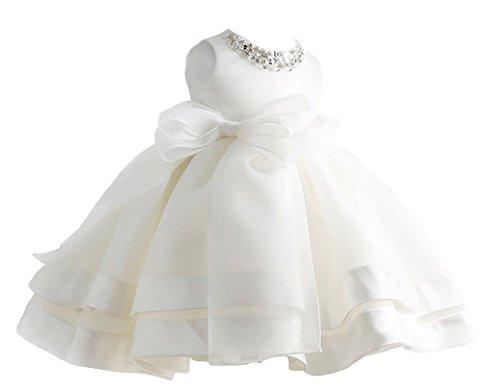 Happy Cherry Niñas Princesas Blanco Vestido de Fiesta Tut