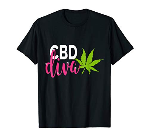 CBD Diva Marihuana Blatt CBD Öl...