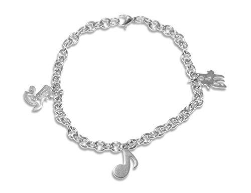 Enez Armband Armkette Armreifen Edelstahl Schmuck 21 cm R1024