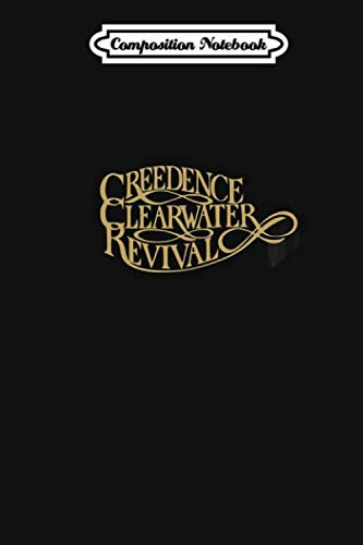 Composition Notebook: Creedence Clearwater Revival Journal/Notebook Blank Lined Ruled 6x9 110 Pages