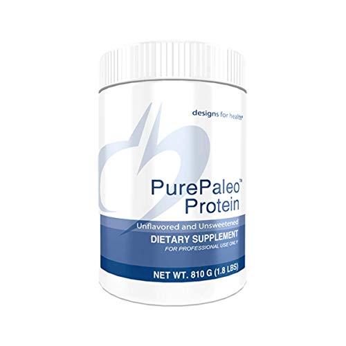Designs for Health PurePaleo Collagen Protein Powder - Paleo Protein Powder - 21g HydroBEEF Protein with Collagen Peptides + BCAAs - Unflavored - Non GMO and Gluten Free (30 Servings / 810g)