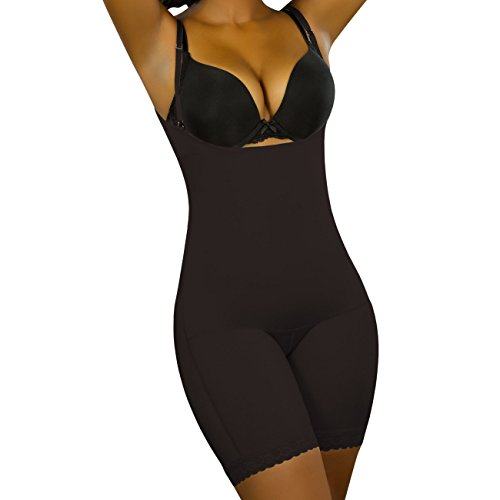 Vedette 170 Women's Daisy Body Shaper Large Black