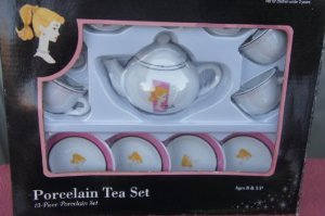 Barbie   Barbie   Porcelain Tea Set Doll doll figure   parallel import