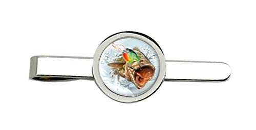 Giftshop UK Angeln, Fischen Krawatte Clip