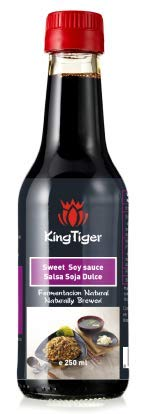 King Tijger – Amakuchi – Kecap – Zoete Sojasaus – Natuurlijke Fermentatie – Ideaal voor Marineren van Vlees, Vis en…