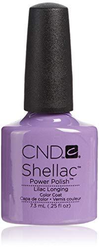 CND Shellac Lilac Longing 7,3 ml de gel de esmalte de uñas