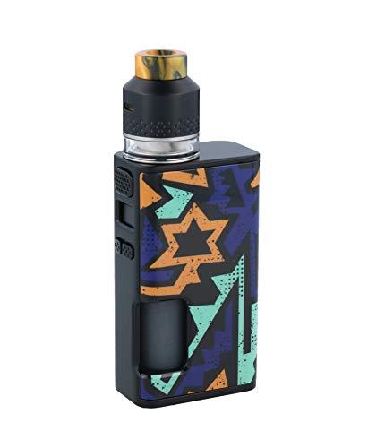 Wismec Luxotic Surface 80 Watt Akkuträger + Kestrel RDTA Verdampfer im E-Zigaretten Set - Farbe: Unistar