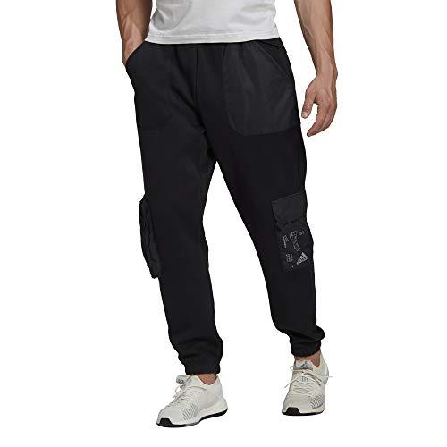 adidas Herren M Cargo Pant Hose, Black, XS