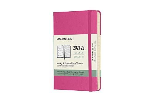 Moleskine 18 Monate Wochen Notizkalender 2021/2022, Pocket/A