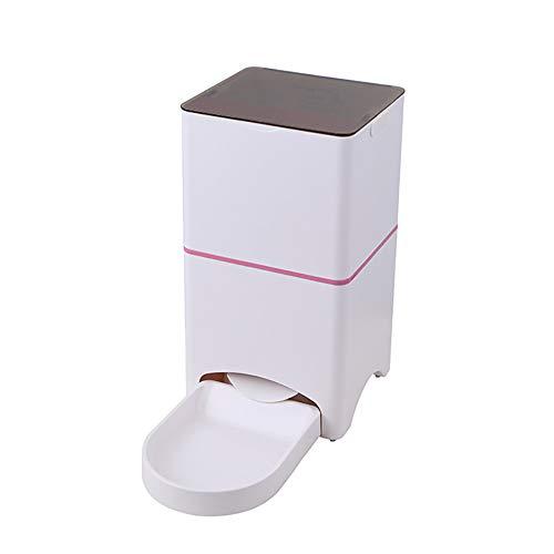 Distributeur Automatique Intelligent Chiens Chats - Alimentation Intelligente Téléphone Portable De 4,5 L,Pink