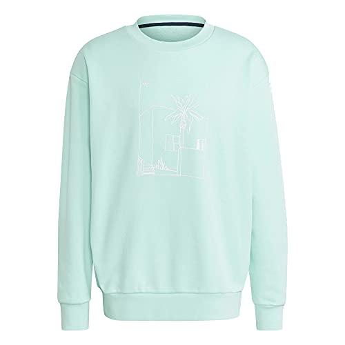 adidas Graphic Sweater - Felpa menta XL
