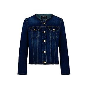 7 for all mankind Damen Jeansjacke Denim Jacket