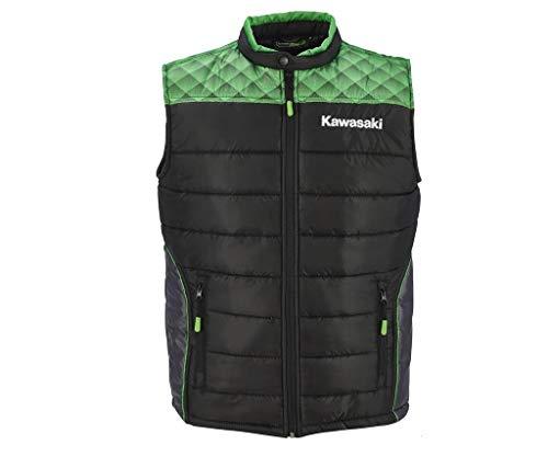 Kawasaki - Gilet sportivo nero/verde XXXXL