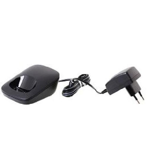 Gigaset Ladeschale für E49H, schwarz Ladeschale + Netzteil, Dieses Produkt wird nur über autorisierte Partner vermarktet