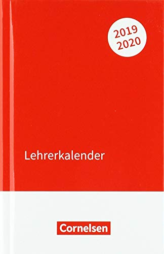 Lehrerkalender - Ausgabe 2019/2020: Kalender im Taschenformat (11 cm x 17 cm)