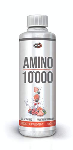 Liquid AMINOS 10000mg High Dosage Complex Pack of 18 Different Amino Acids from Beef Protein Hydrolysate Including Blend of BCAAs 1000ml 500ml and 20x25ml Liquid Amino Shot Ampoules 40 20 Servings