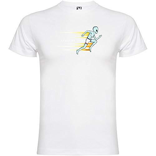 Camiseta Running Speed of Light Manga Corta Hombre Blanco M