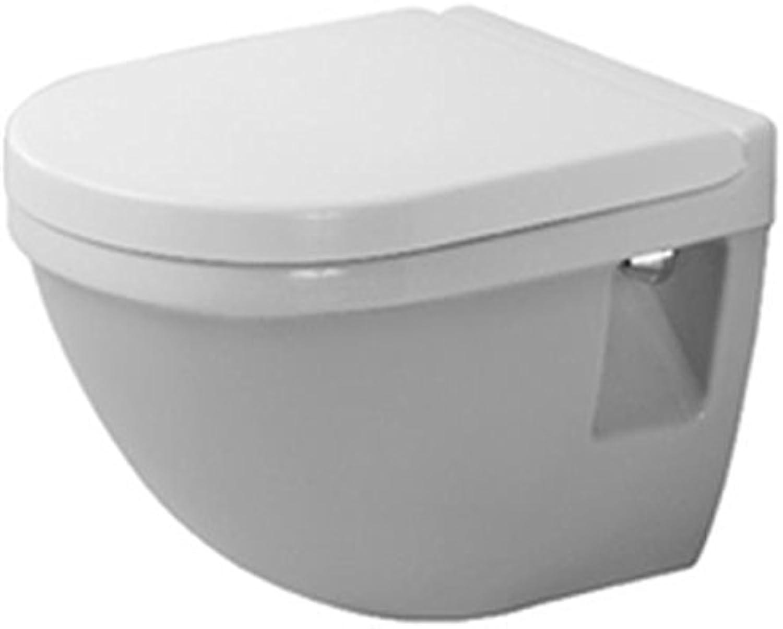 Starck 3 Wandtiefspül-WC Compact,wei WonderGliss