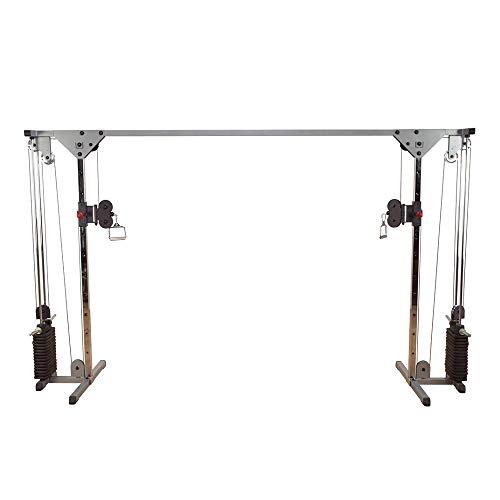 inSPORTline - Máquina de cruce de cuerpo sólido | Estructura de acero ajustable y altamente duradero diseño único | Adecuado para uso doméstico en hotel y club
