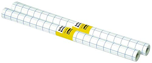Idena 223031 - Buchfolie, 3 m x 40 cm, selbstklebend, transparent, 1 Rolle