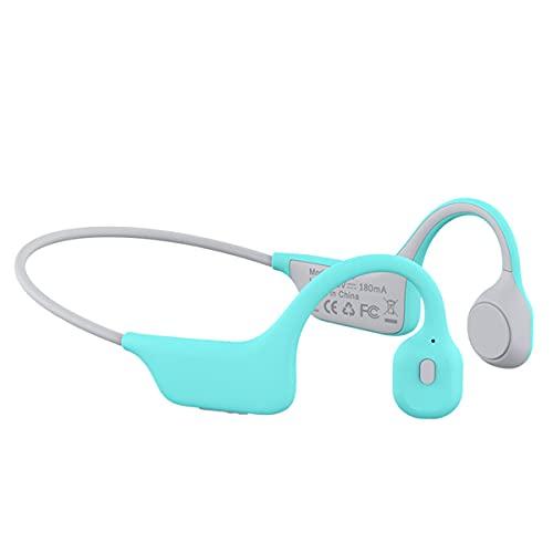 LBYB Auriculares Inalámbricos De Conducción De Titanio Bluetooth 5.0, Auriculares Deportivos Impermeables IPX6 con W/Mic Stereo HD para Correr Ciclismo,Rosado