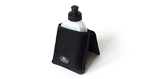 New! Buddy Pouch H2O (Black) - Magnetic, Personal Hydration Pouch. No Belt or Clip. (4' L x 4' W)