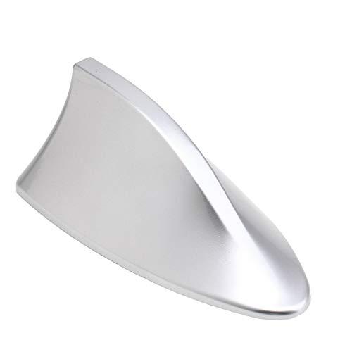 Kelay Car Shark Fin Antenne Blank Radio Antenne FM Radio Signal mit ABS-Lack-Klebstoff-silbernes