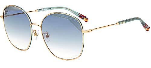 Sonnenbrillen Missoni MIS 0014/S Gold/Blue Shaded 59/17/145 Damen