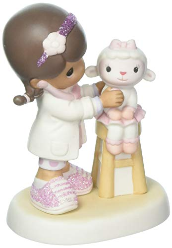 Precious Moments Disney Doc McStuffin With Lamb Figurine