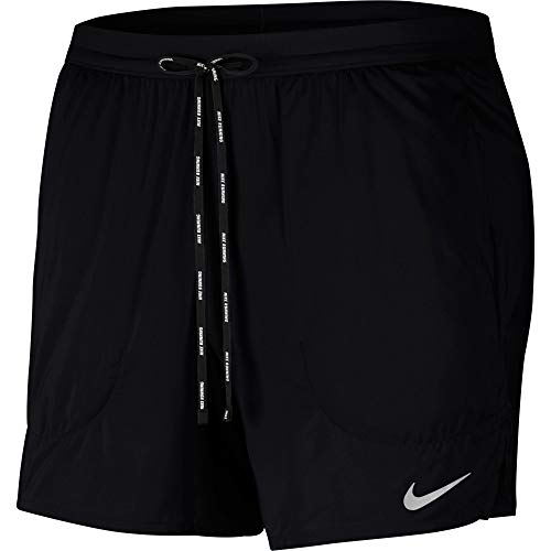 Nike M Nk Flex Stride Short 5In Bf - black/reflective silv, Größe:XL
