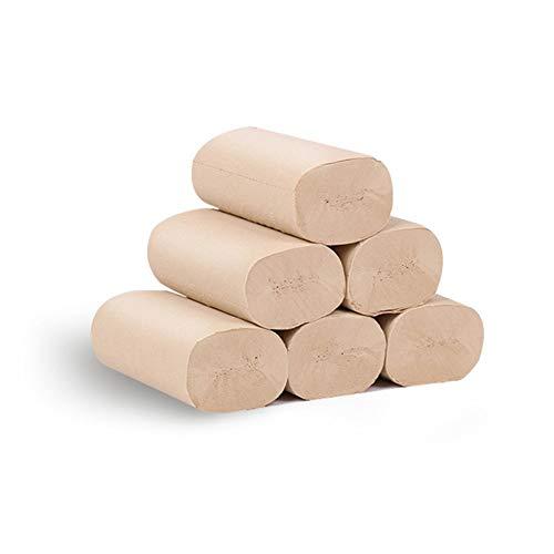 Ruankenshop WC Papier Toilet Paper Recyceltes Toilettenpapier Toilettenpapier Bulk Bulk Toilettenpapier in Loser Schüttung Öko-Toilettenpapierrolle Bambusgewebe